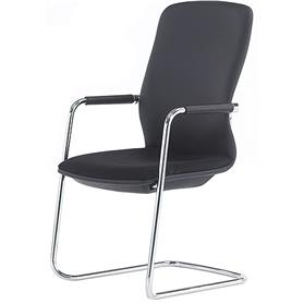 Senator Symmetry Cantilever Visitor Chair High Back