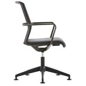 Senator Circo Mesh Back Chair with Glides Side