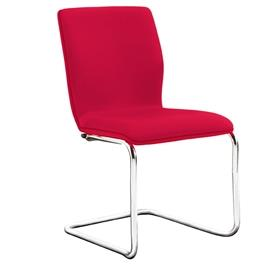 Verco Profile Cantilever Visitor Chair Fully Upholstered no Arms