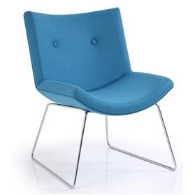 Verco Echo Sled Base Lounge Chair ECH1