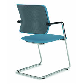 Viasit Drumback Cantilever chair