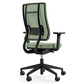Viasit Newback Office Chair, Black Frame