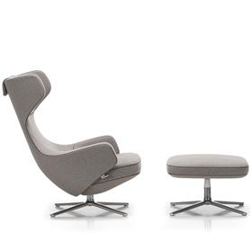 Vitra Repos Chairs and Ottoman Side