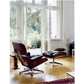 Vitra Lounge Chair and Ottoman by Charles & Ray Eames