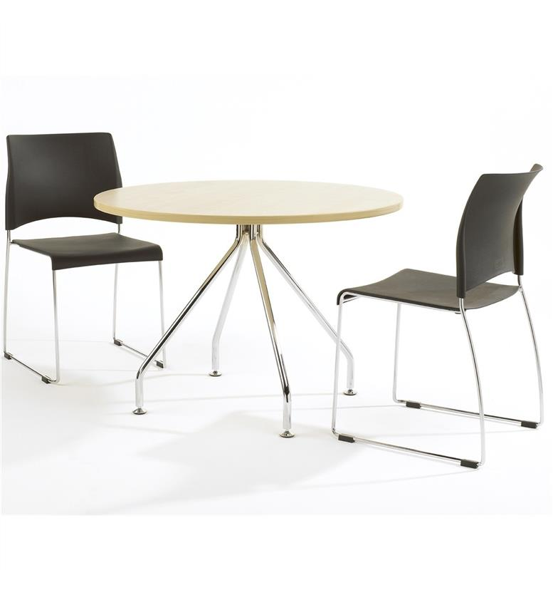 Verco Luna Laminate and MFC Circular Office Table