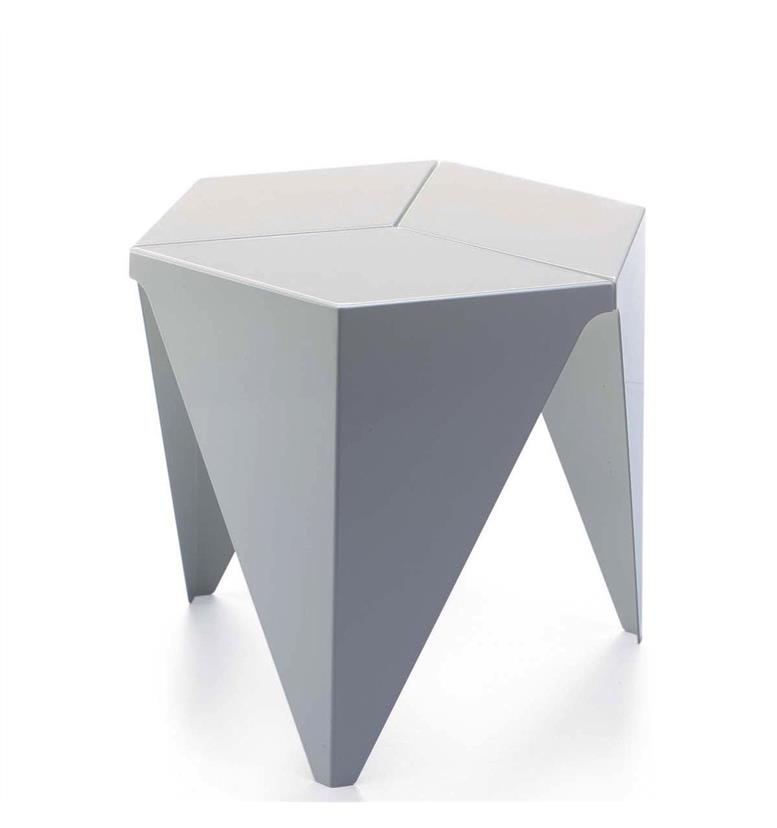 Vitra White Prismatic Table by Isamu Noguchi