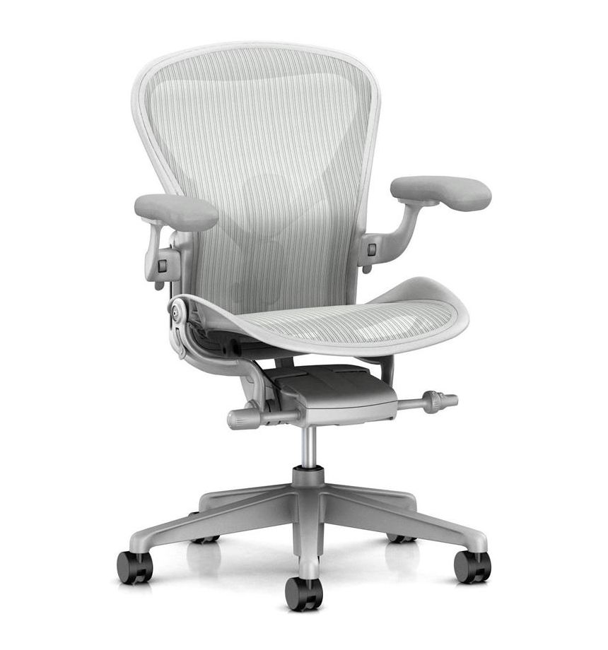 Herman Miller Aeron Executive chair in Mineral Finish