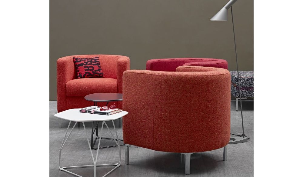 The Oasis soft seating range from Herman Miller