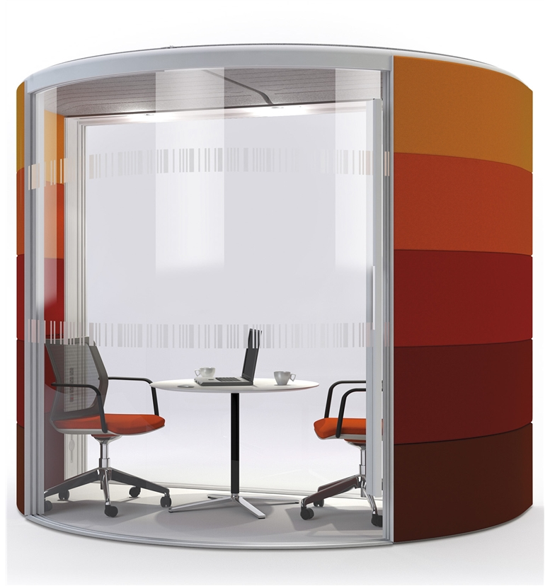 Orangebox Modular Acoustic Meeting Pods