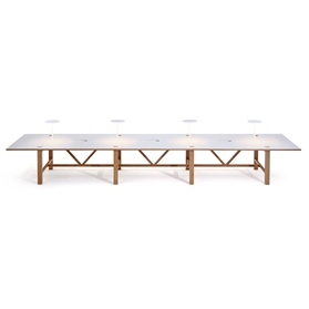 Orangebox Bae Triple Bay Table