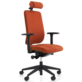 Orangebox Being Me Occupational Health Chair with Headrest Design Your Own