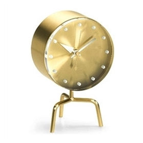 Vitra Tripod Desk Clock by George Nelson