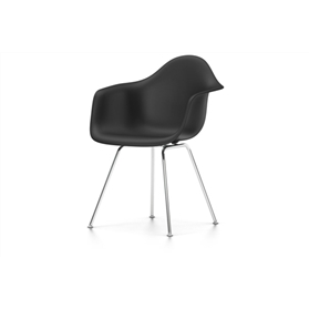 Vitra Eames DAX Chair, Basic Dark