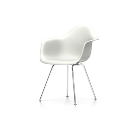 Vitra Eames DAX Chair, White