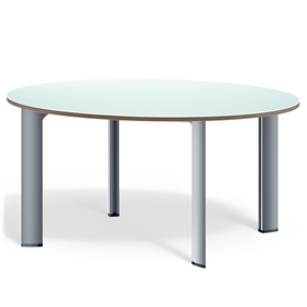 Boss Design Apollo Circular Table, Linoleum Finish