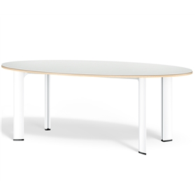 Boss Design Apollo Elliptical Table, Linoleum Finish