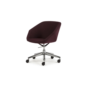 Torasen Clara Side Chair with 5 Star Base
