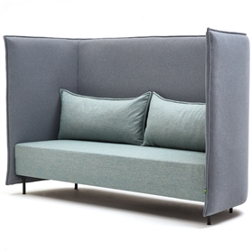 naughtone Cloud 3 seat sofa with high back