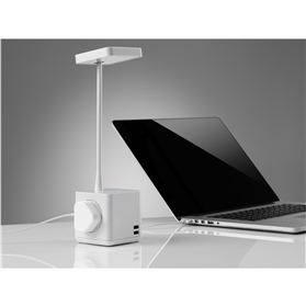 NEXT DAY DELIVERY! CBS Cubert LED Desk Light with USB & Power Charging
