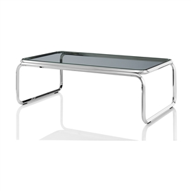Boss Design Cuba Clear Glass Rectangular Coffee Table