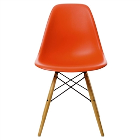 Vitra Eames DSW Chair, Red