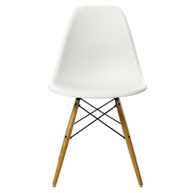 Vitra Eames DSW Side Chair, White