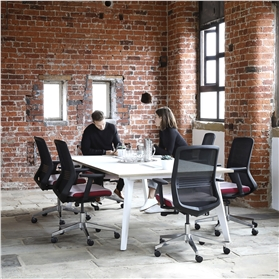 Elite LUX Square Meeting Table