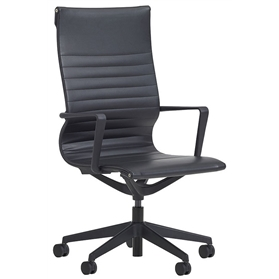 Verco Flux Faux Leather Chair, High Back