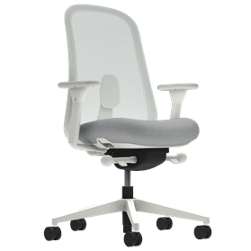 Herman Miller Lino Office Chair Aristotle Grey, Mineral Base