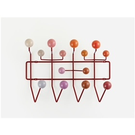 Vitra Eames Hang It All - Red Multi-Tone