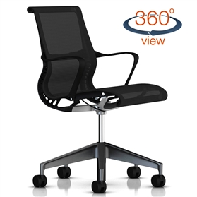 NEXT DAY DELIVERY! Herman Miller Setu Graphite Edition