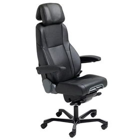 KAB K4 Premium Office Chair, Full Leather