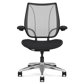 Humanscale Liberty Chair  Leather Seat Design Your Own