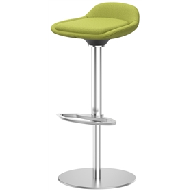 Interstuhl Lime is5 bar stool with footrest