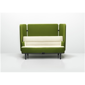 Allermuir Mote 2 Seater Sofa with Side and Rear Screens