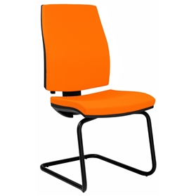 Elite Match Upholstered Cantilever Meeting Chair