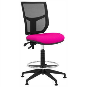 Elite Team Plus Mesh Draughtsman Chair