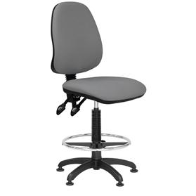Elite Start Upholstered Draughtsman Chair