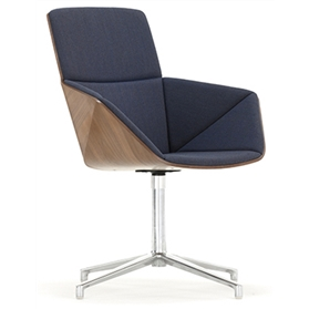 Allermuir Phoulds High Back 4-Star Base Chair