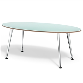 Boss Design Pegasus Elliptical Table, Linoleum Finish