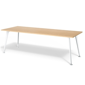 Boss Design Pegasus Rectangular Table 4 Leg, Veneer