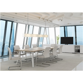 Elite Reflex Octangonal Boardroom Table