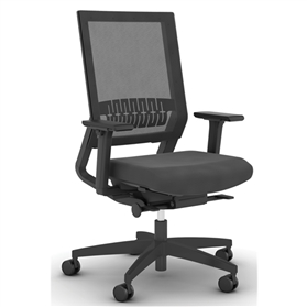 NEXT DAY DELIVERY! Viasit Impulse Too Office Chair Xpress Black Edition