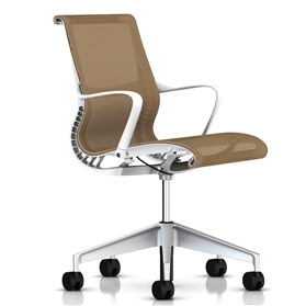 Herman Miller Setu Office Chair, Mango