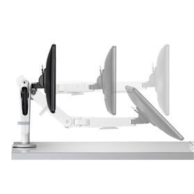 NEXT DAY DELIVERY! CBS Ollin Intelligent Monitor Arm, White