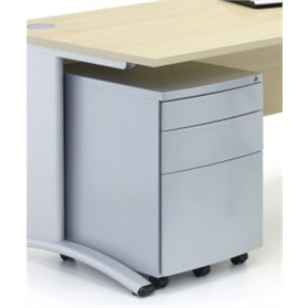 Verco Under Desk Mobile Metal Pedestals
