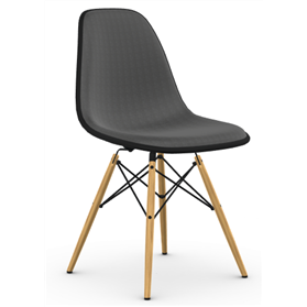 Vitra Eames DSW Side Chair, Full Upholstery