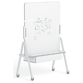 Senator Dual Sided Mobile Whiteboard, Dry Wipe or Magnetic Dry Wipe