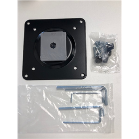 Humanscale VESA Plate with Fixings M2RVBL 1906781022NL01