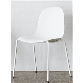 Allermuir Kin Side chair plastic shell 4 leg